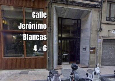 Calle Jerónimo Blancas 4-6 Zaragoza Terapéutica en Alza